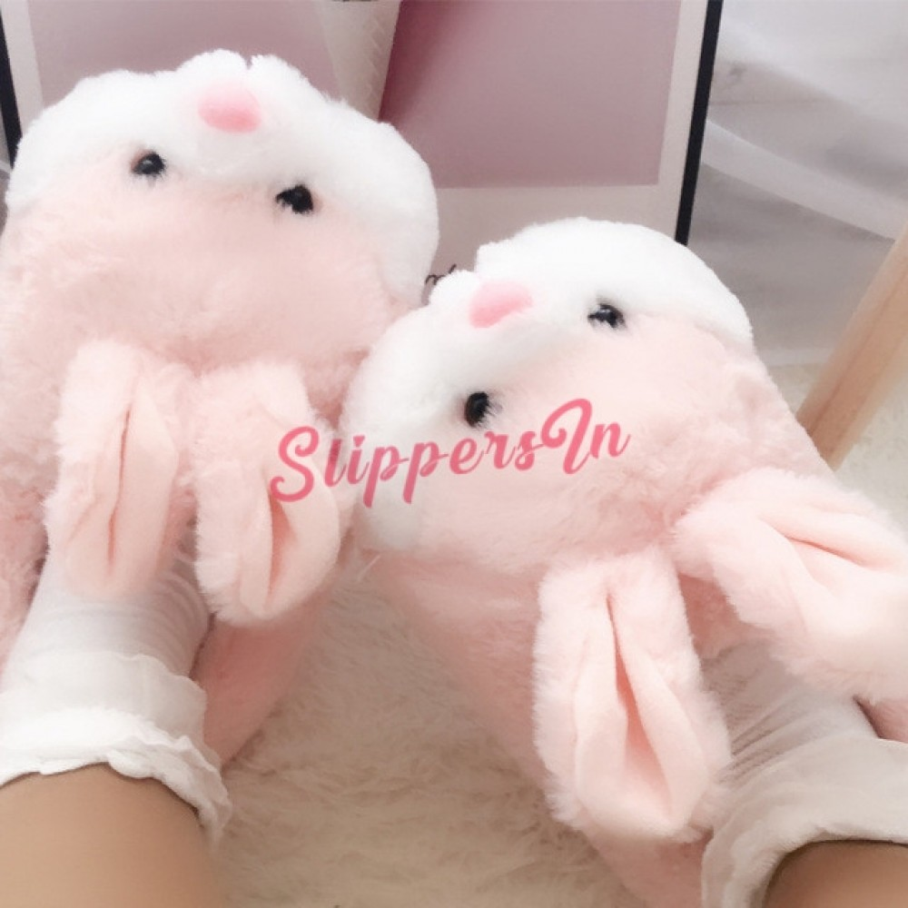 Bunny Slippers Couple's Warm House Shoes