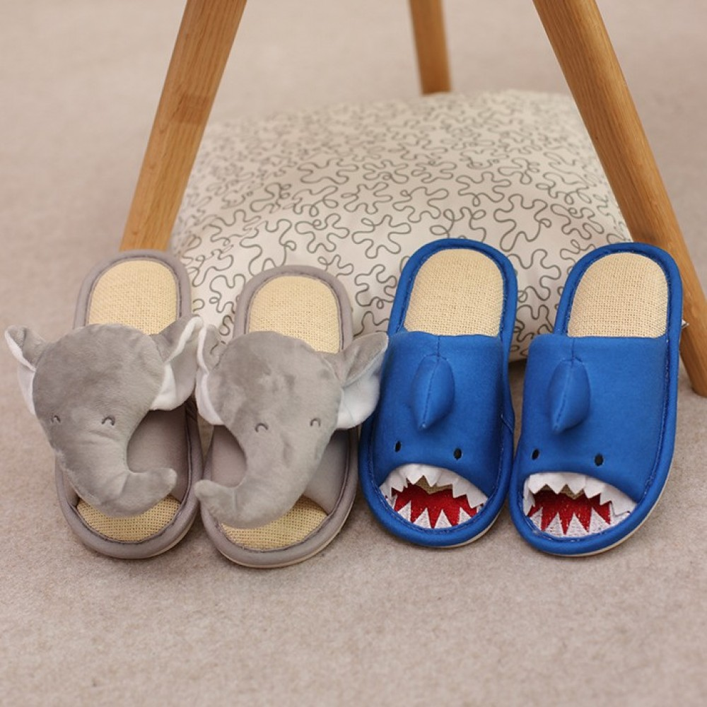 Kids Shark Slippers Toddler Boys Girls Soft Home Slippers Indoor Outdoor Shoes