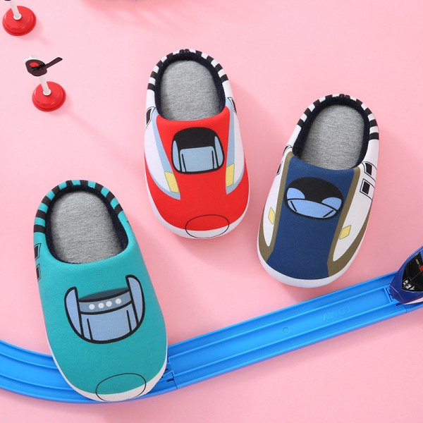 Cute Memory Foam Scuffs for Adults and Kids Cartoon Family Slippers