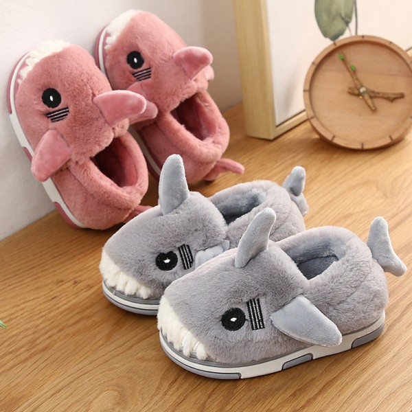 Cute Kids' Shark Slippers Toddler Animal Slipper Shoes