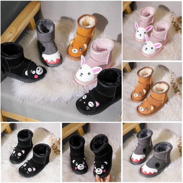 Cute Kids' Snow Boots for Boys Girls Toddlers Cartoon Winter Boots